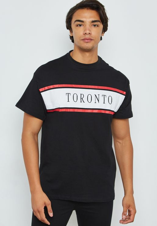 Toronto Embroidered Crew Neck T-Shirt