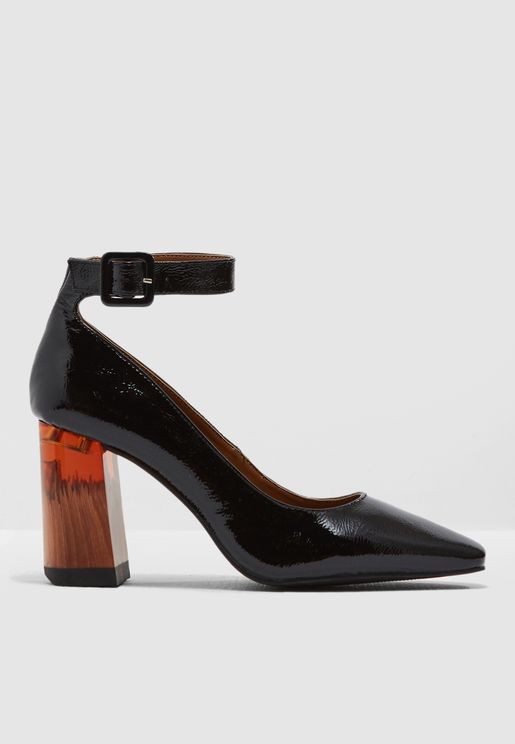 Laura Ankle Strap Pump