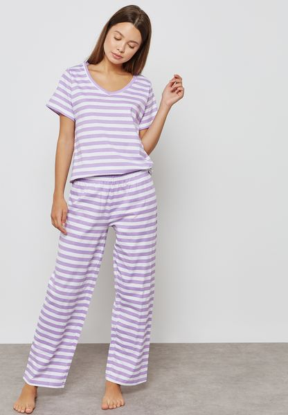 Striped Pyjama Set