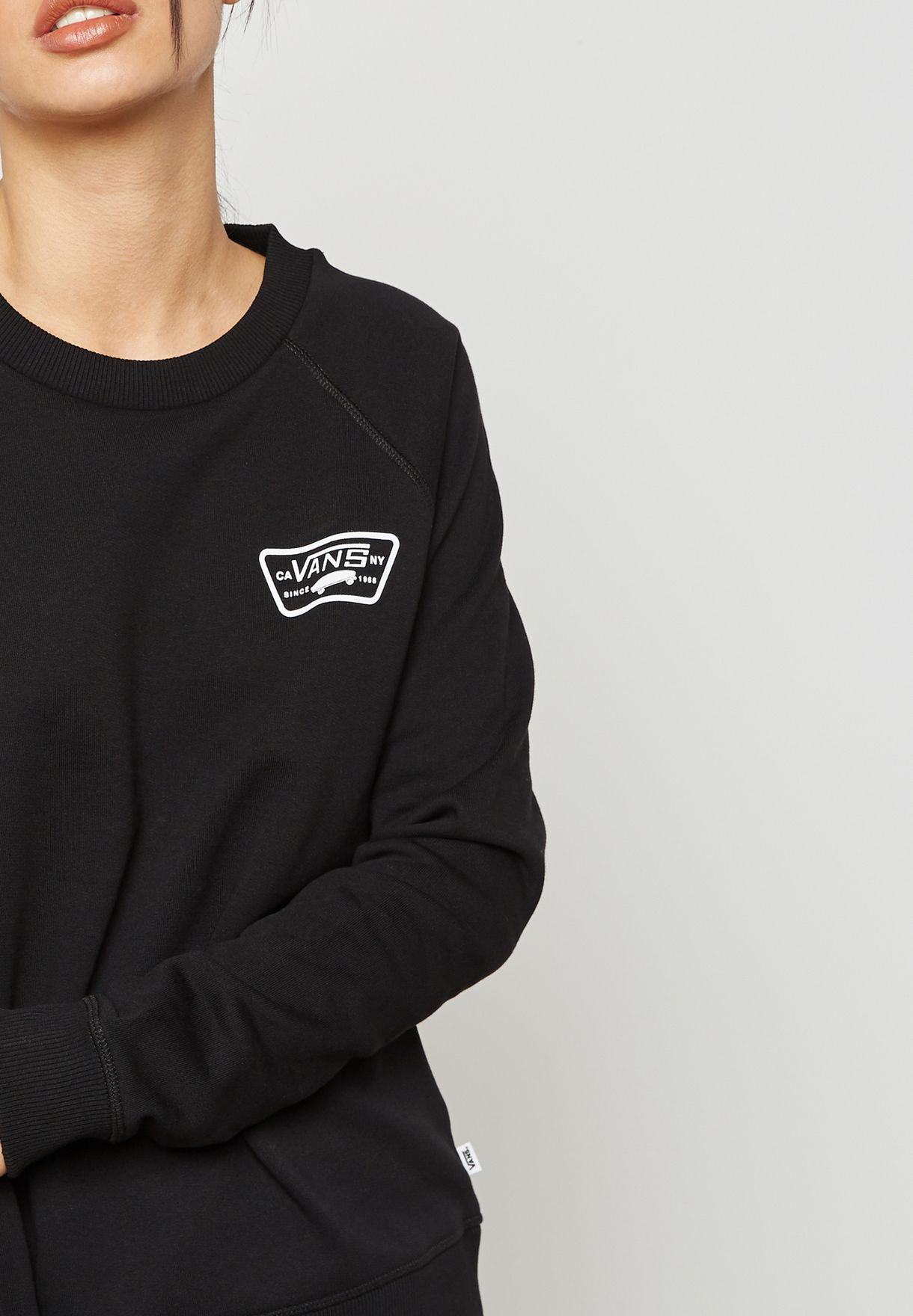 Full Patch Raglan Sweatshirt