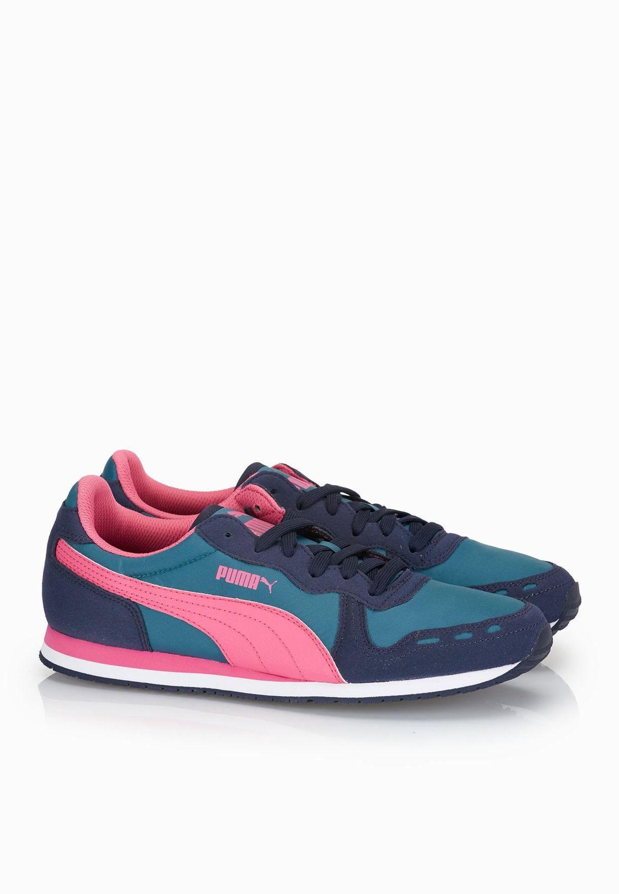421e836e7cb Shop PUMA multicolor Cabana Racer Fun Sneakers 35839709 for Women in  Bahrain - PU020SH83HFW