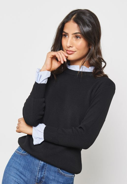 Shirt Insert Sweater