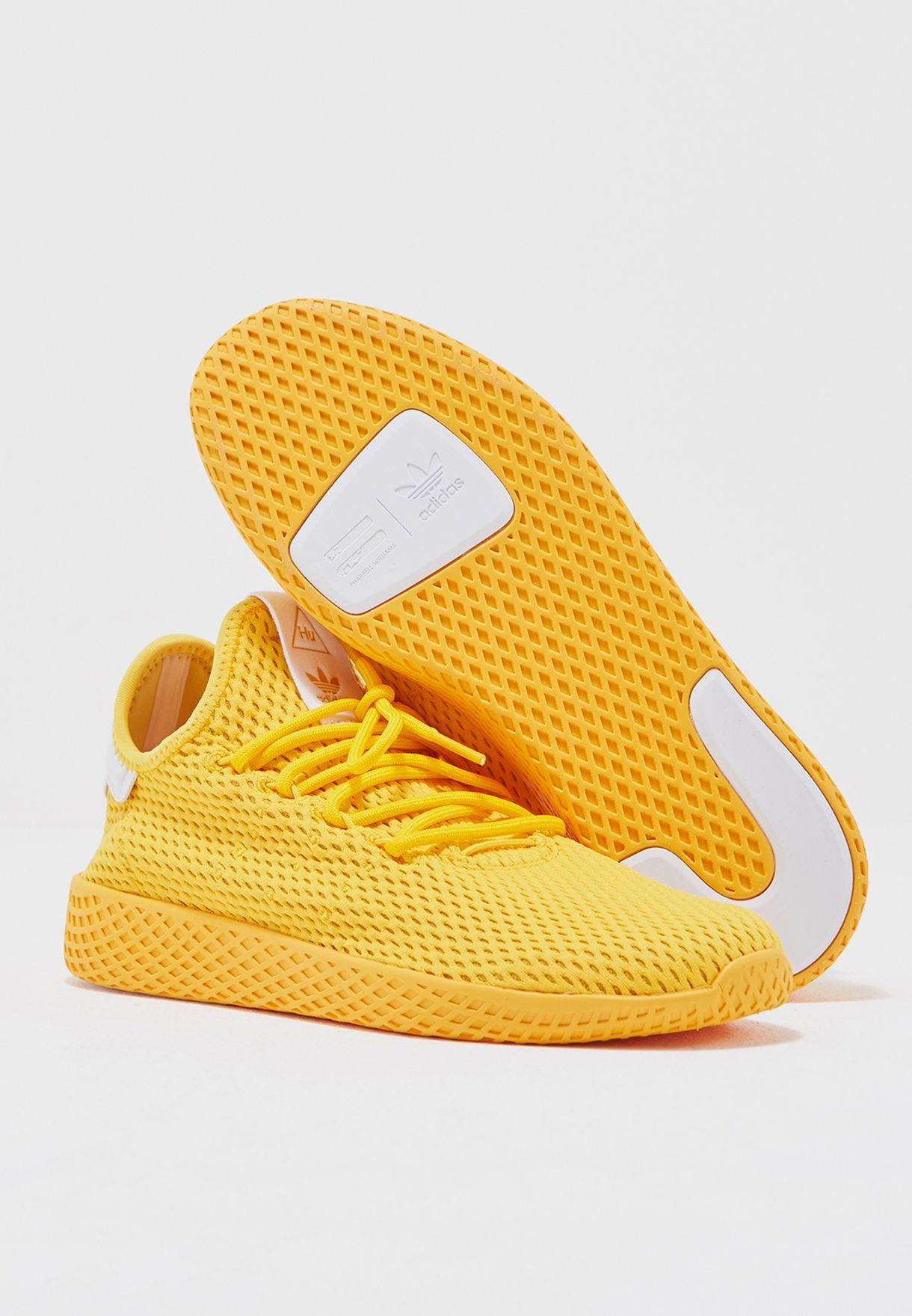 adidas Originals yellow PW Tennis HU