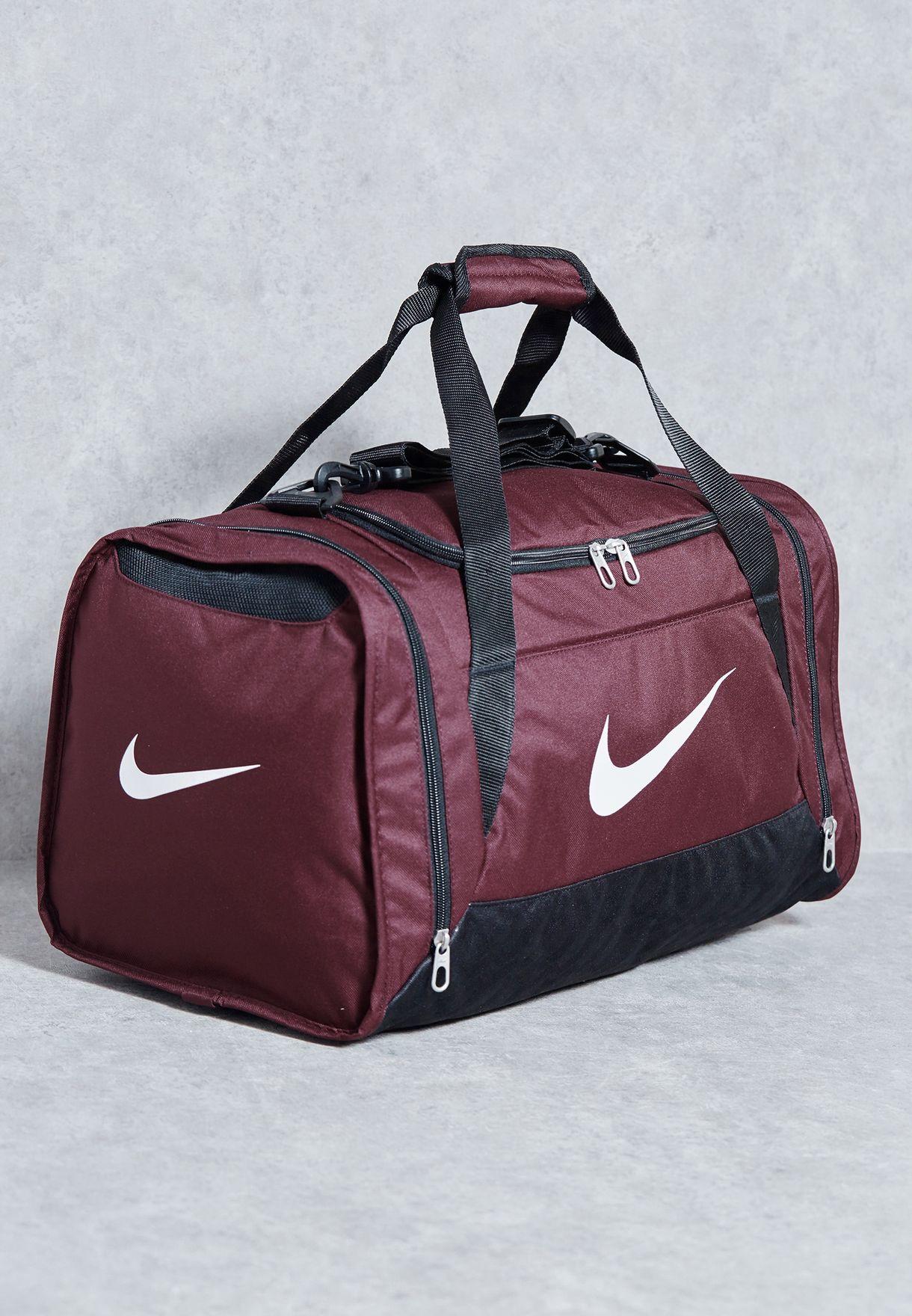 bfe84aab0677 Shop Nike red Small Brasilia 6 Crossbody Duffel Bag BA4831-681 for Women in  Qatar - NI727AC83XBG