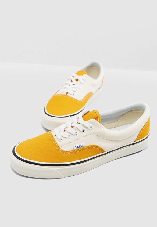 Vans Yellow Low-Top Sneakers for Men  a01c96a35