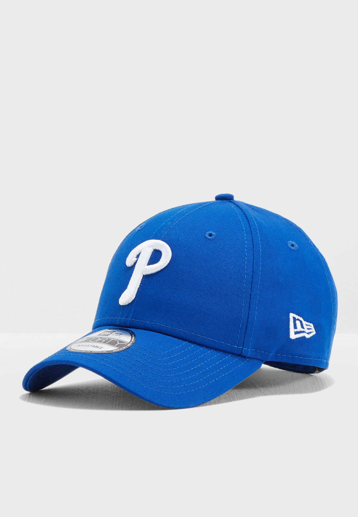 on sale 00569 b0a3c reduced shop new era blue 9forty philadelphia phillies baseball cap  11586119 for men in uae ne207ac83tpk