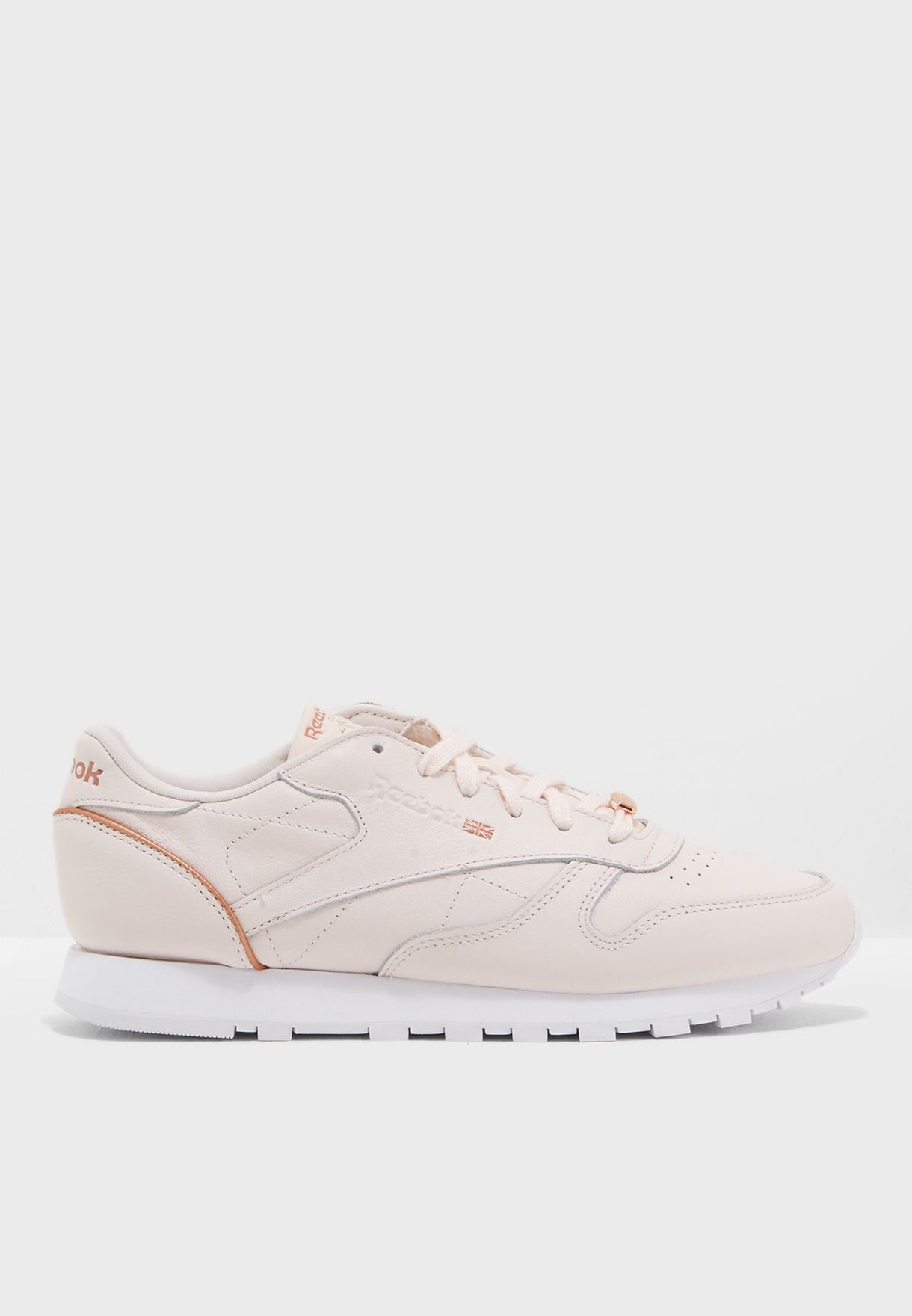 9e4df7d84f38f Shop Reebok pink CL LTHR HW BS9880 for Women in UAE - RE019SH73YKW