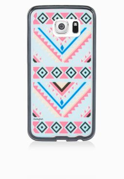 Funky Fish Samsung S6 Tribal Print Mobile Cover
