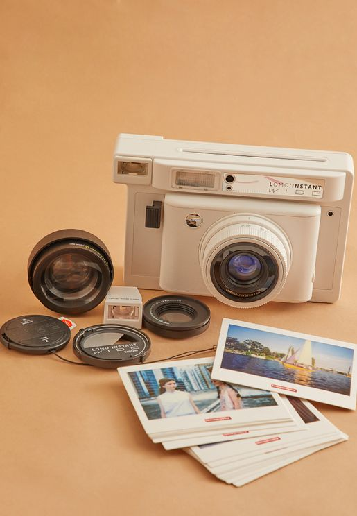 Lomo`Instant Wide Combo With Lenses & Film