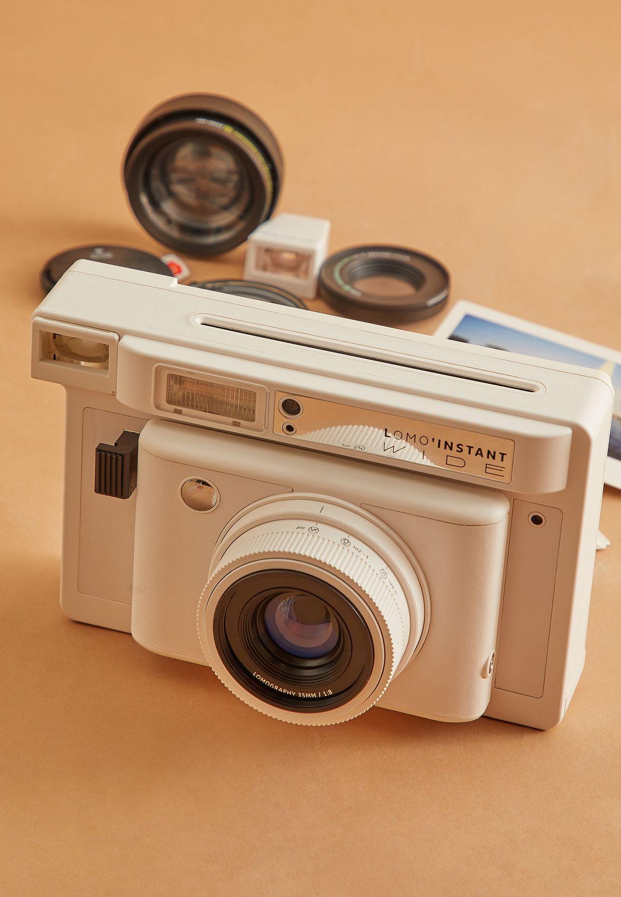 كاميرا لومو انستانت وايد كومبو مع عدسات وفيلم