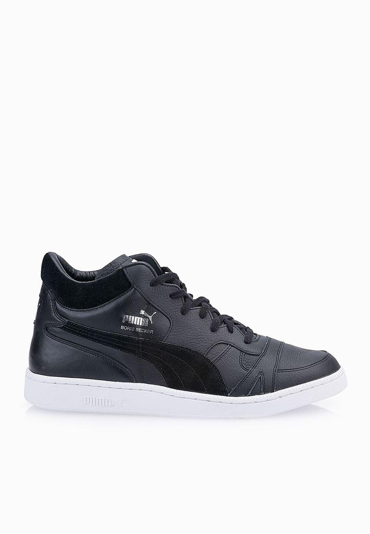 41d045a12b78 Shop PUMA black Becker Mid 35889502 for Men in UAE - PU020SH73JQS