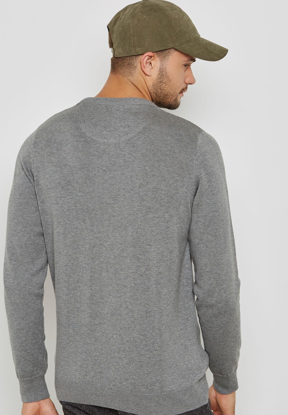 Crew Neck Classic Sweater