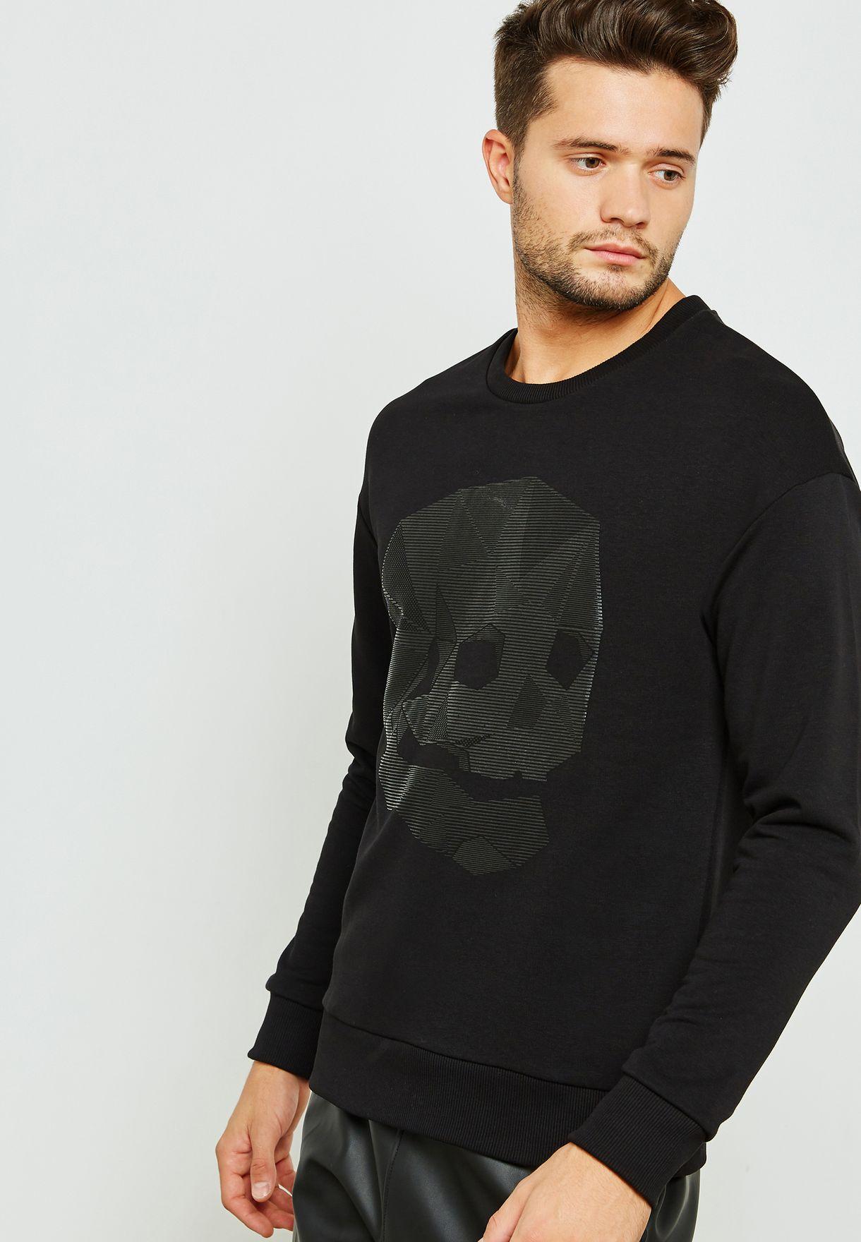finest selection d74a2 36efc Dene Skull Sweatshirt
