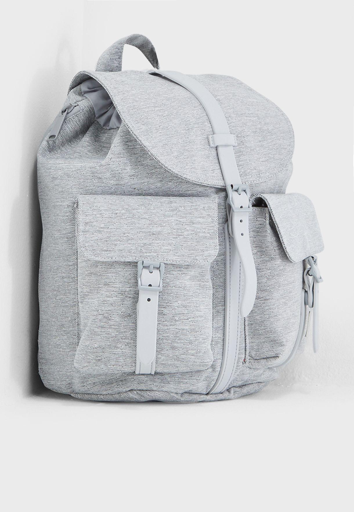 63e5b85866 Shop Herschel grey Extra Small Dawson Backpack 10301-01866-OS for ...