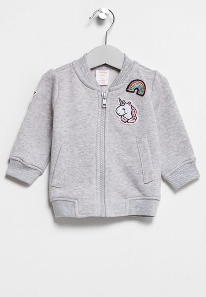 Infant Patch Bomber Jacket