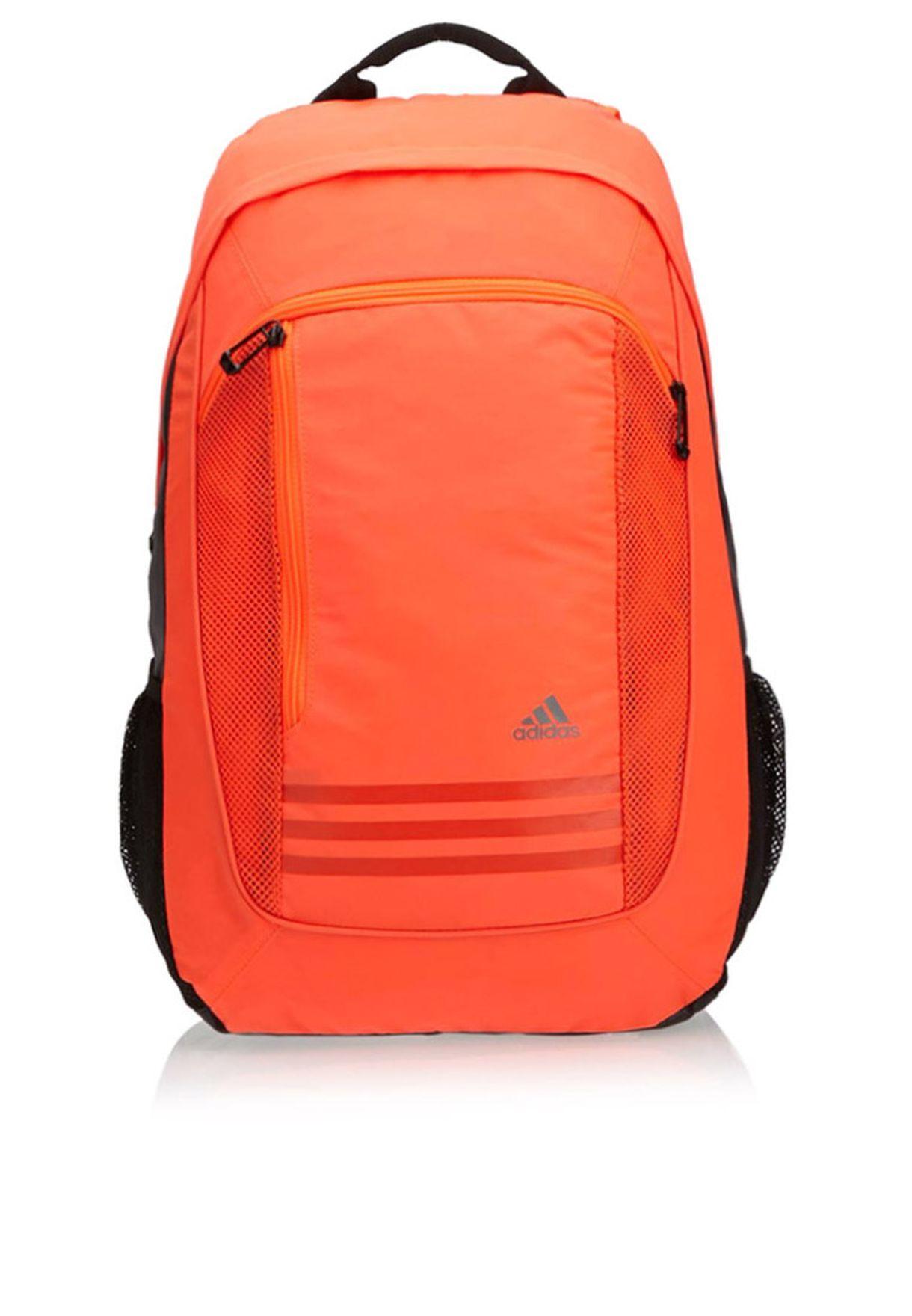2f6b27cfed7a Shop adidas orange Clima Backpack M66123 for Men in Qatar - AD476AC73RQO