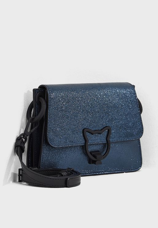 Katlock Metallic Crossbody