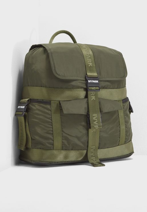 Parachute Straps Backpack