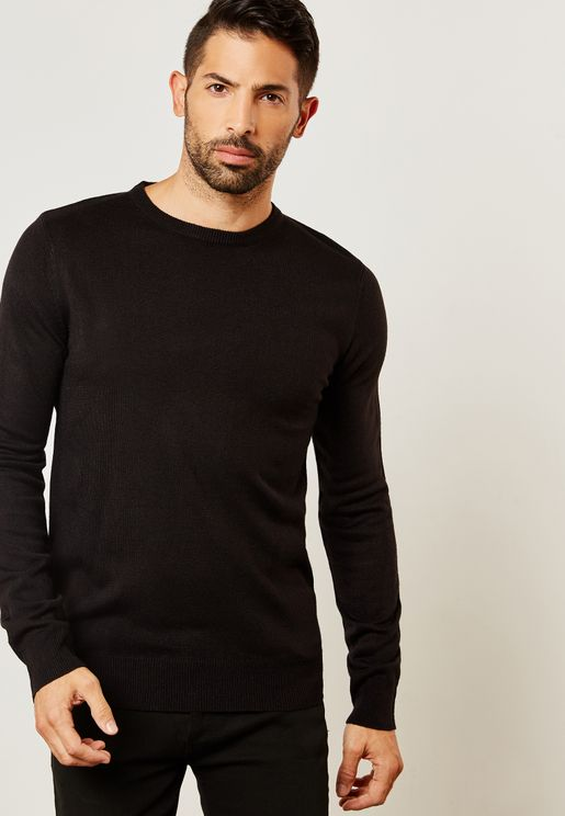 Knitted Crew Neck