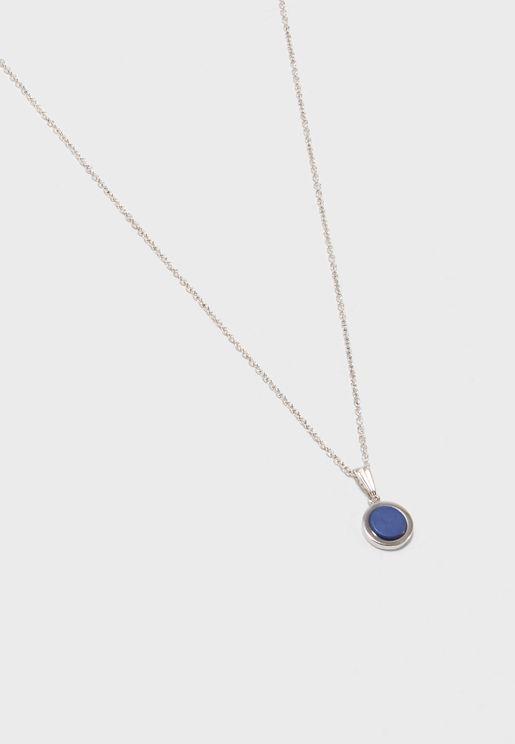 Antique Rhodium Necklace