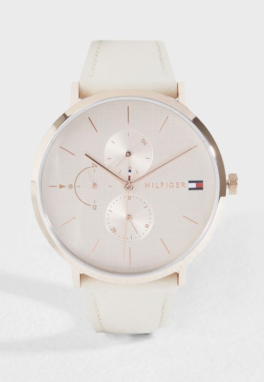 Jenna Vintage Analog Watch