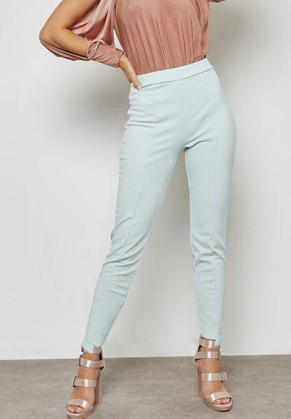 Skinny Fit Cigarette Pants
