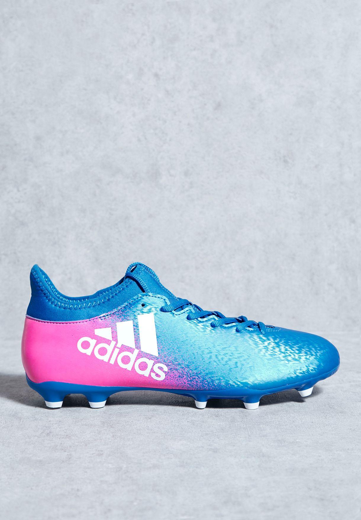 2667fe25d5fa Shop adidas blue X 16.3 Fg BB5641 for Men in UAE - AD476SH73PWC