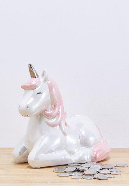 Rainbow Unicorn Money Box