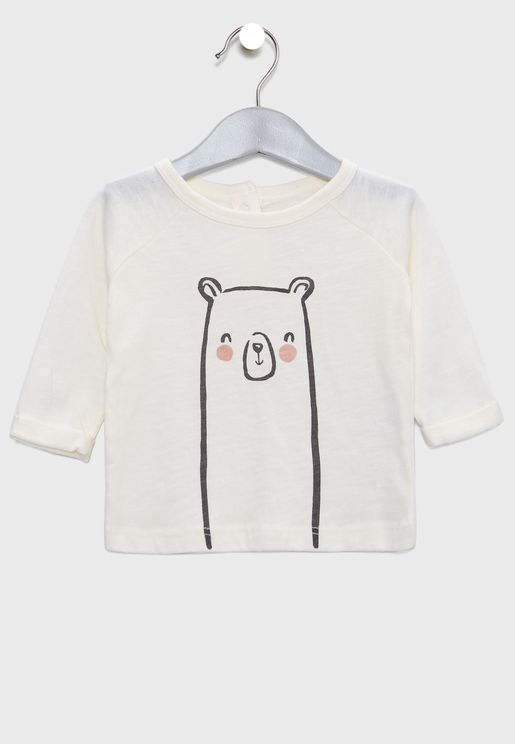 Infant Bear Face T-Shirt
