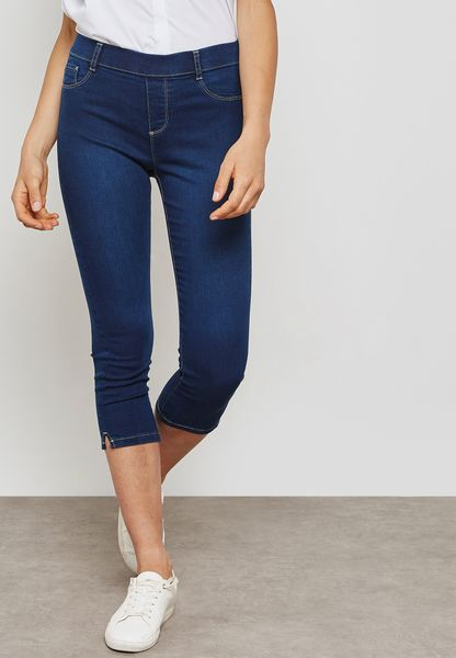 Authentic Eden Cropped Jeggings