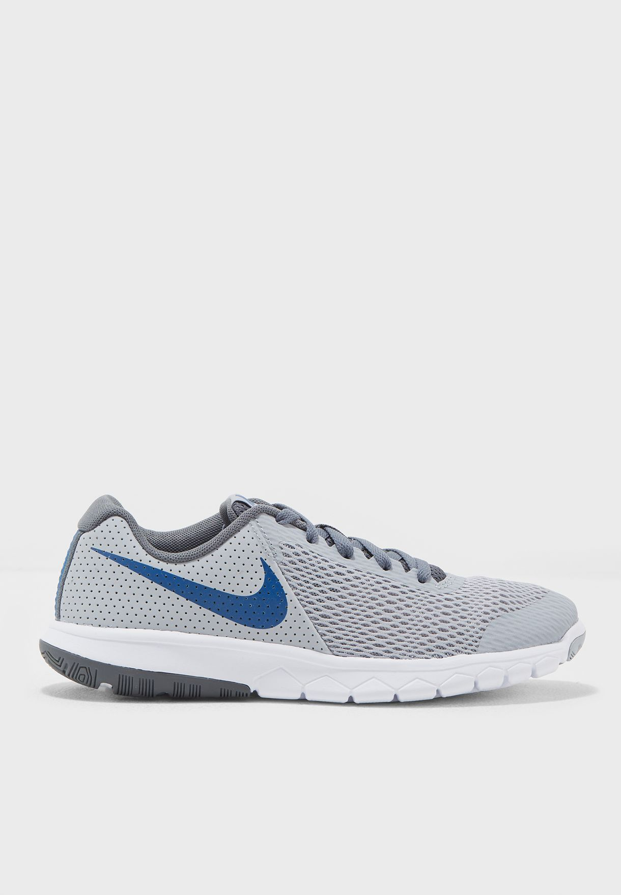 5a0d01be9ecd Shop Nike grey Flex Experience 5 Youth 844995-011 for Kids in UAE ...