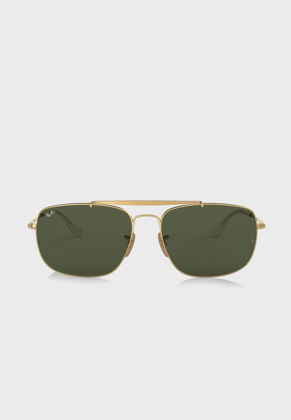 1643e511f0 Shop Ray-Ban gold 0RB3560 The Colonel Sunglasses 8053672866650 for ...