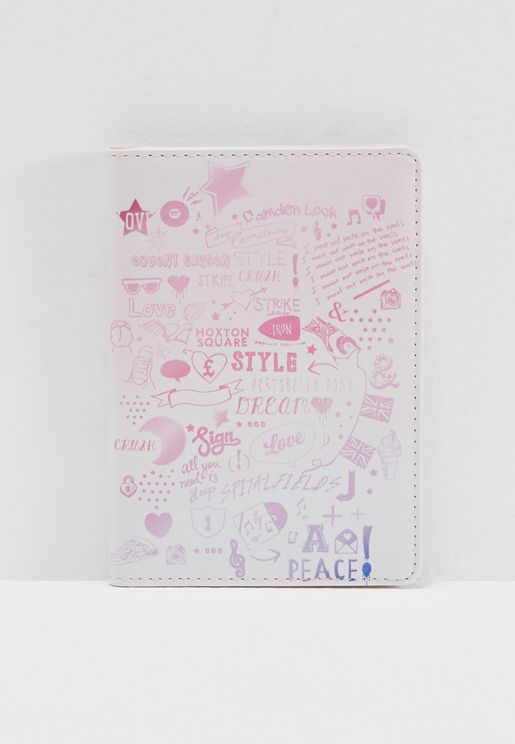 Graphics Passport Holder