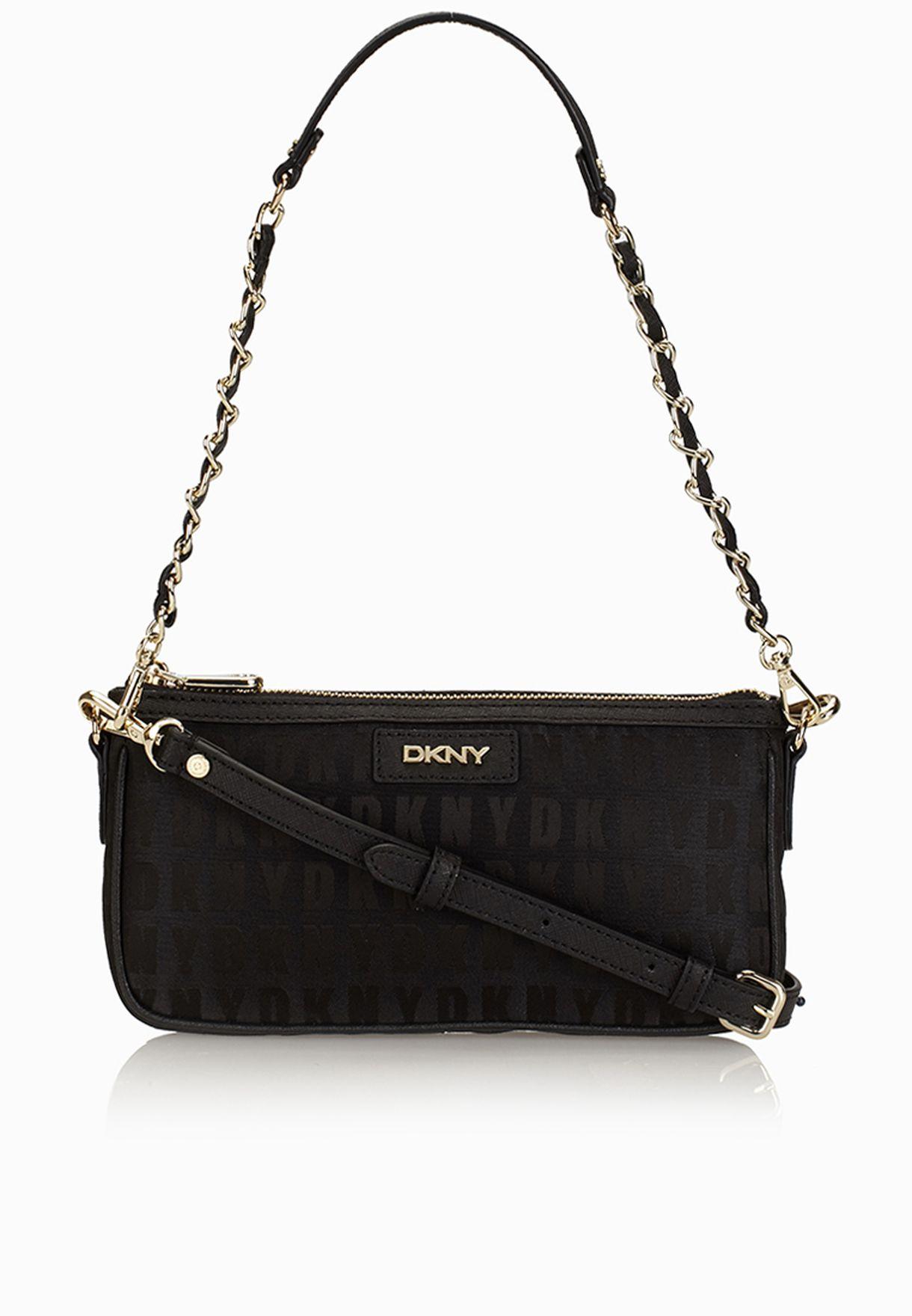 fcbcac00f تسوق حقيبة بحمالة طويلة ماركة دكني لون أسود R9913101 في السعودية ...