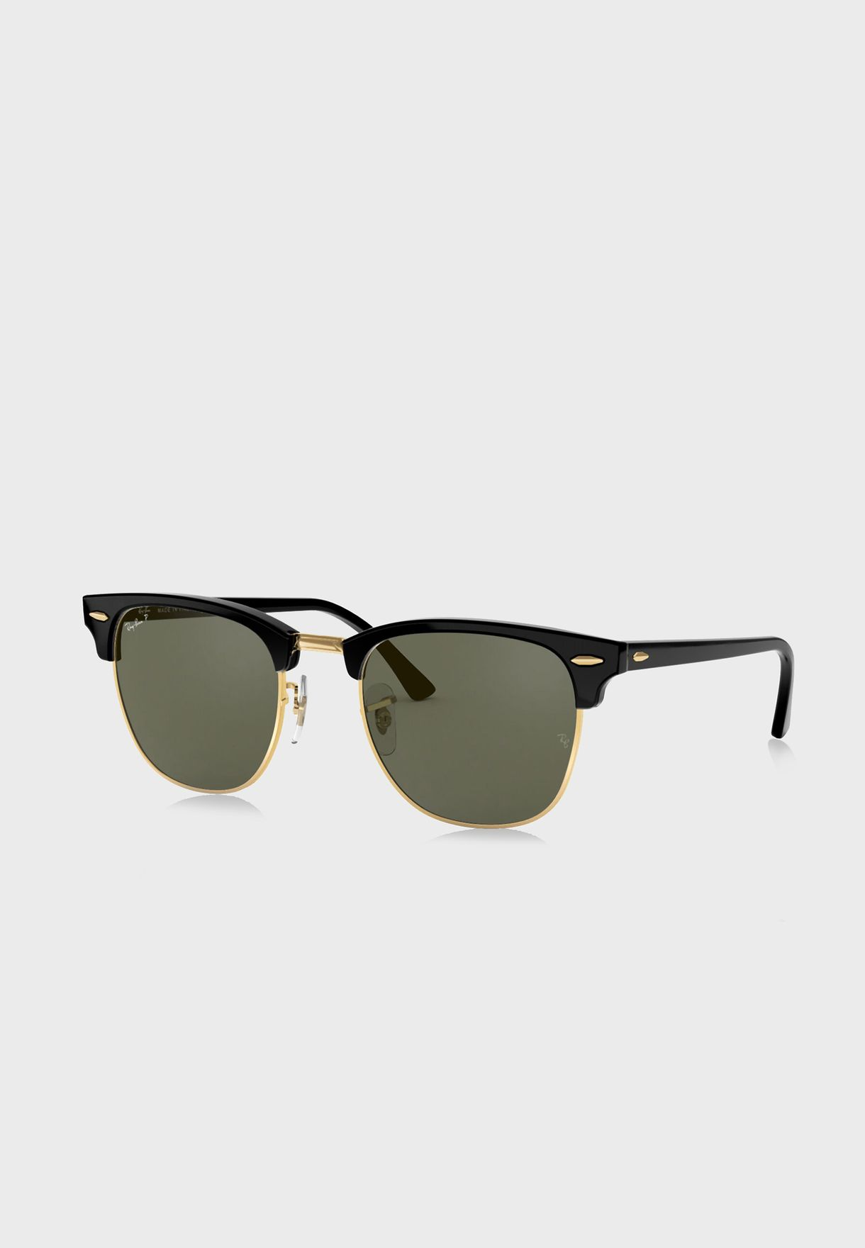 fac8873218 Shop Ray-Ban black 0RB3016 Clubmaster Sunglasses 805289346883 for ...