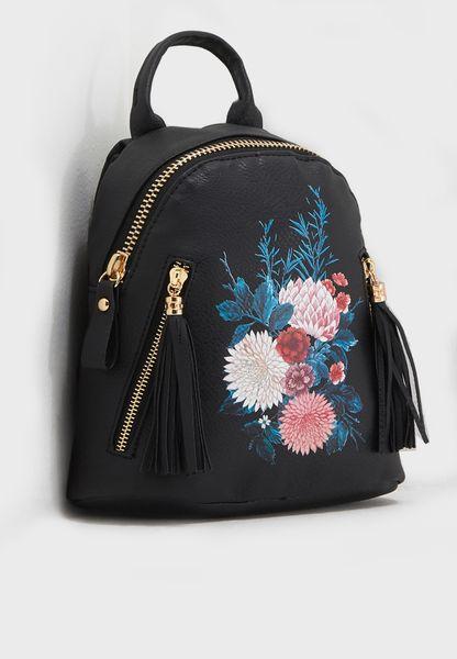 Santa Fe Floral Backpack