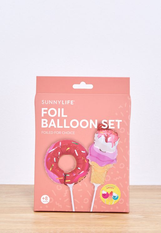 Sweet Tooth Foil Balloons