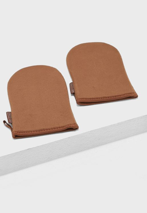 2 x Applicator Mitts