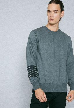 Zipped Sleeve Sweatshirt
