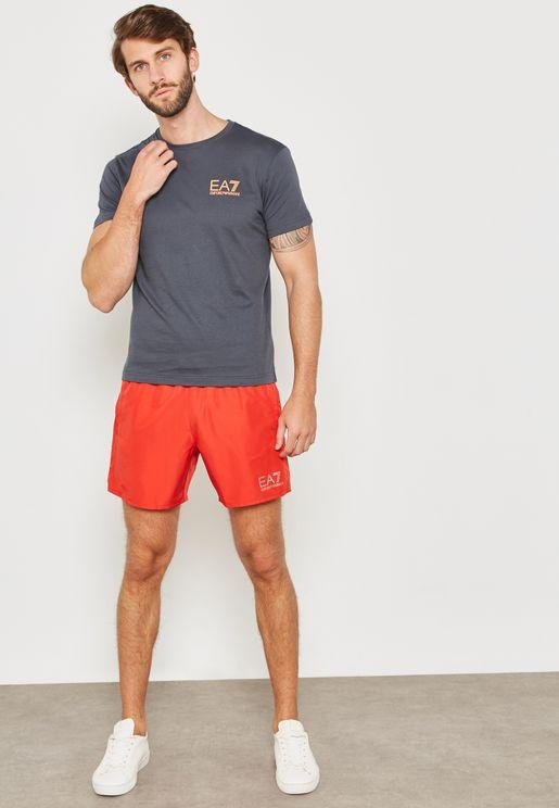 Sea World Logo Swim Shorts