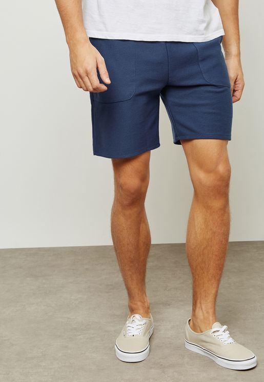 twill Jersey Shorts