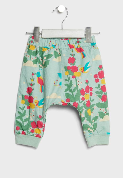 Infant Organic Floral Sweatpants