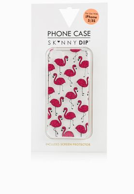 Skinny Dip London iPhone 5 Flamingo Cover