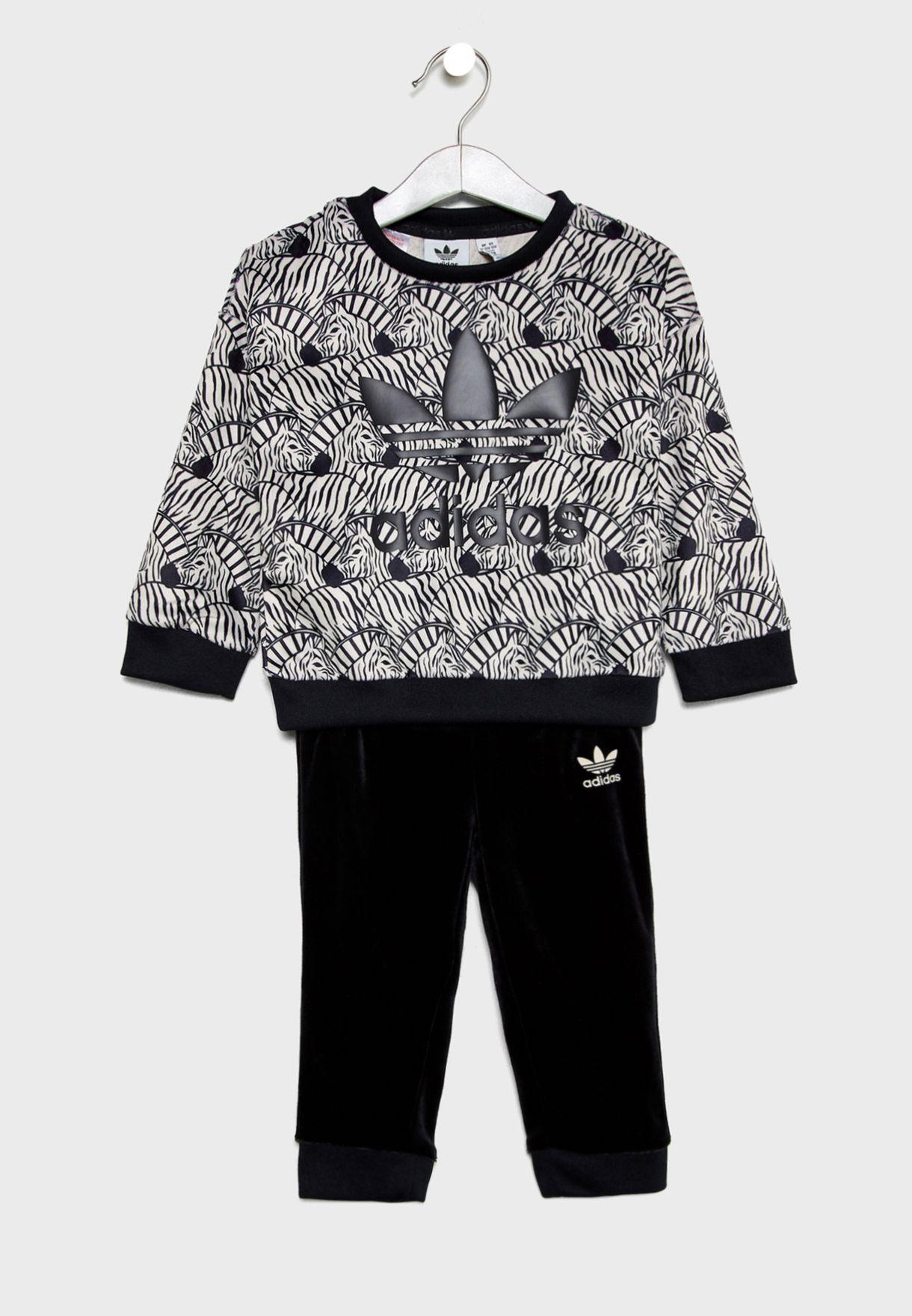 new concept d1467 74488 Infant Zebra Superstar Set