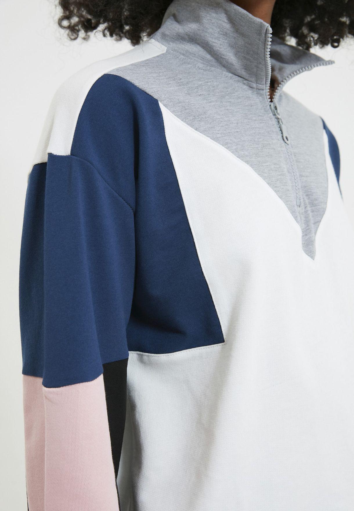 Colorblock Sweatshirt