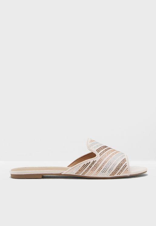 Quinoa Flat Sandal