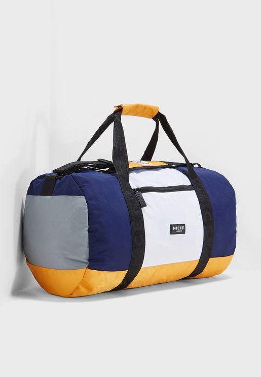 Colour Block Duffel Bag