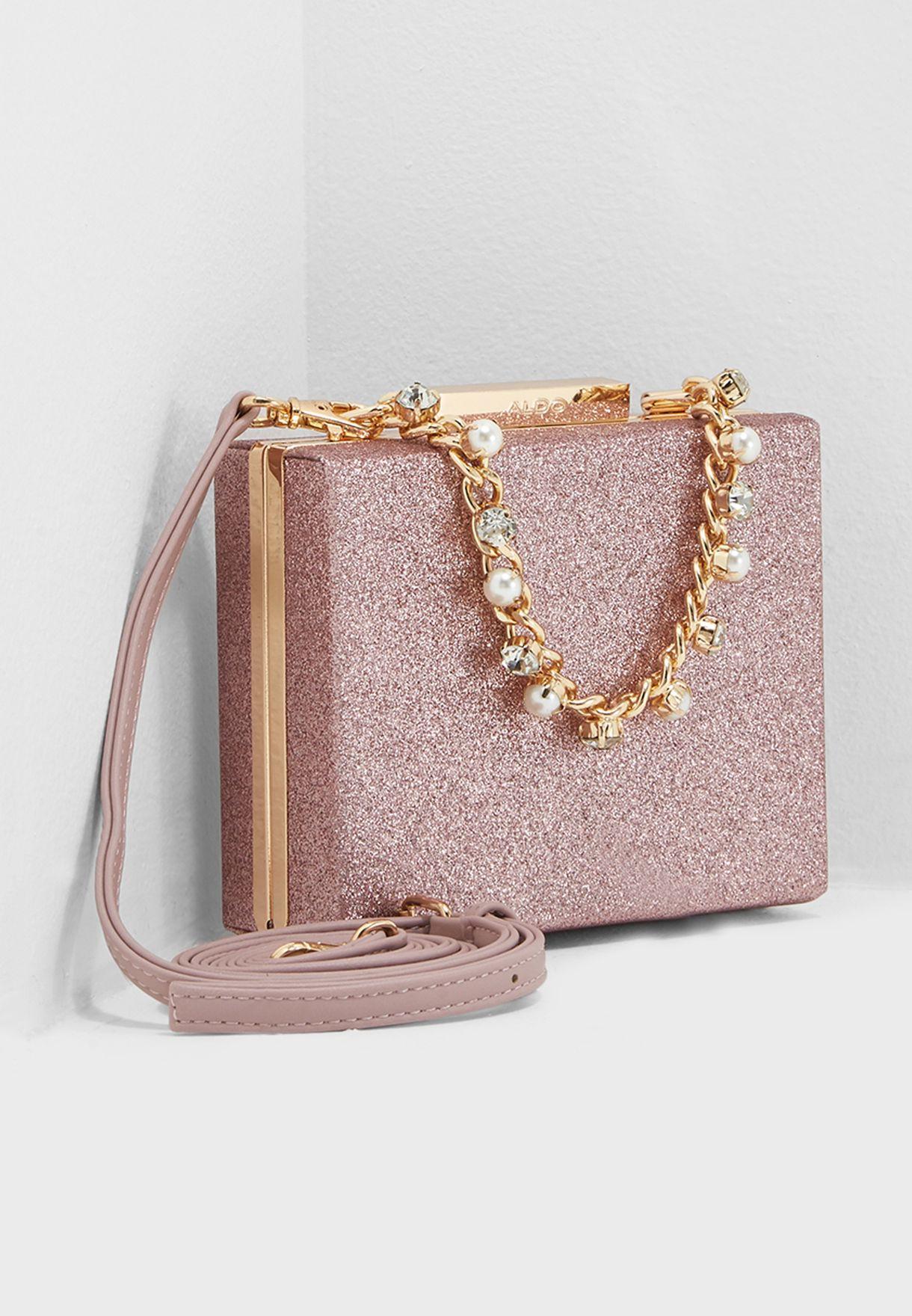 bacf8f61d1bd Shop Aldo pink Horipewell Clutch HORIPEWELL55 for Women in UAE ...