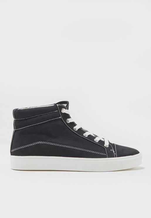 Decorative seam sneakers