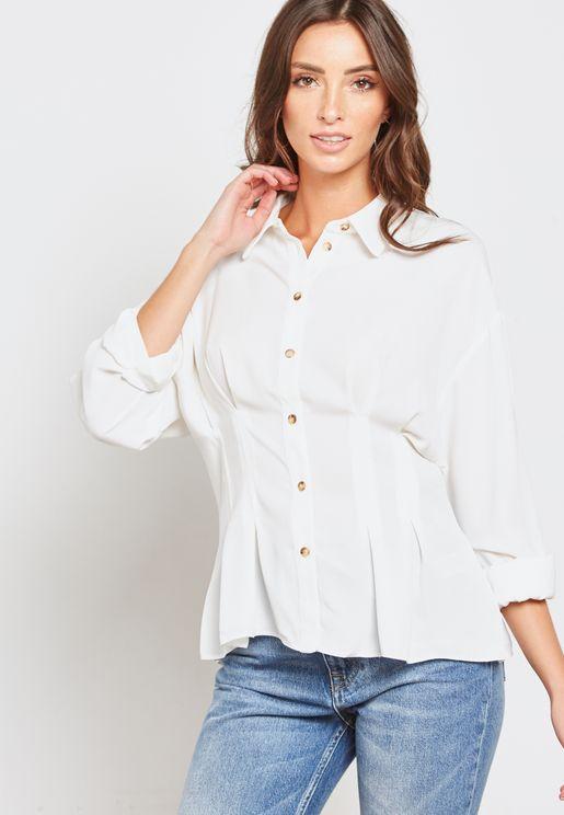 Waist Detail Shirt
